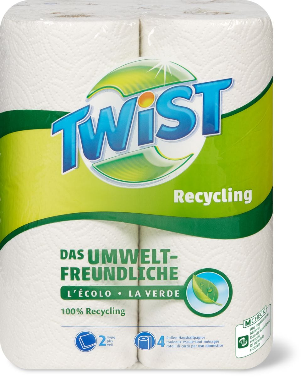 Twist Recycling Carta uso domestico