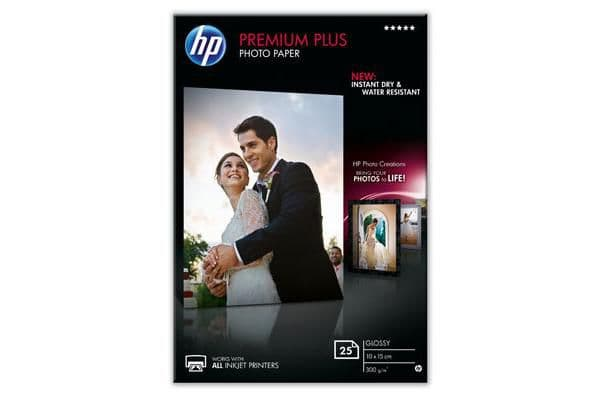 HP CR677A Premium Plus Inkjet Photopaper brilliant Papier photographique