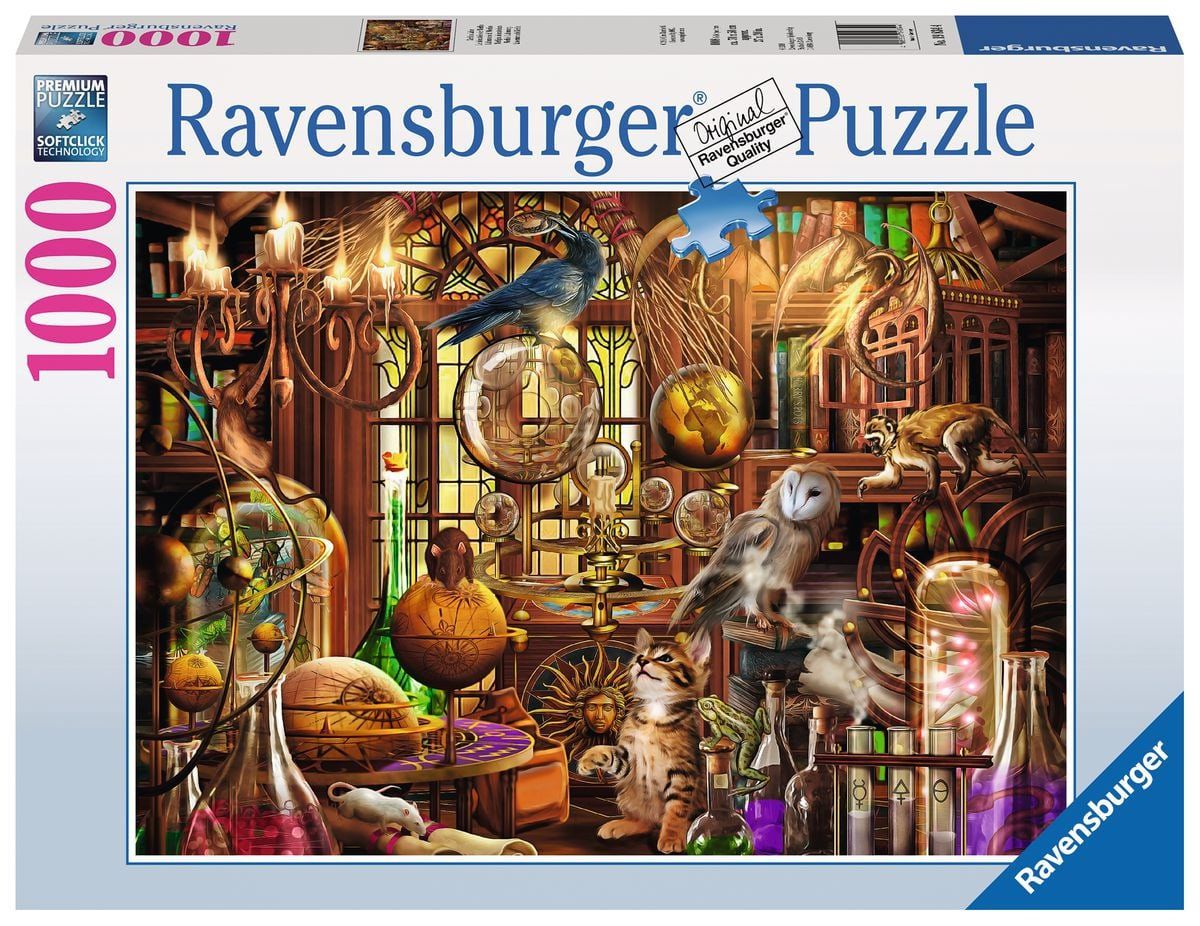 Ravensburger Merlins Labor Puzzle