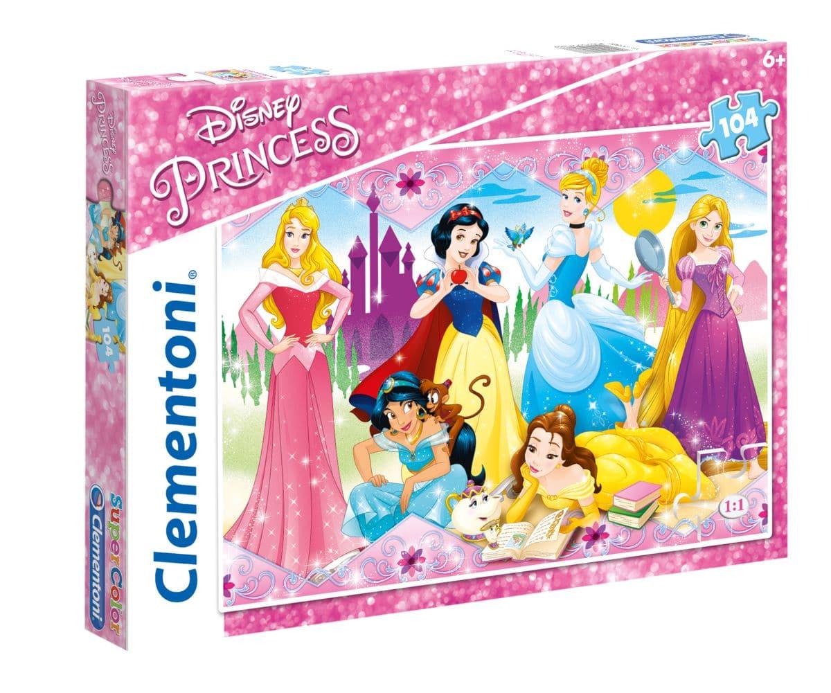 Clementoni Disney Princess 104 Teile Puzzle
