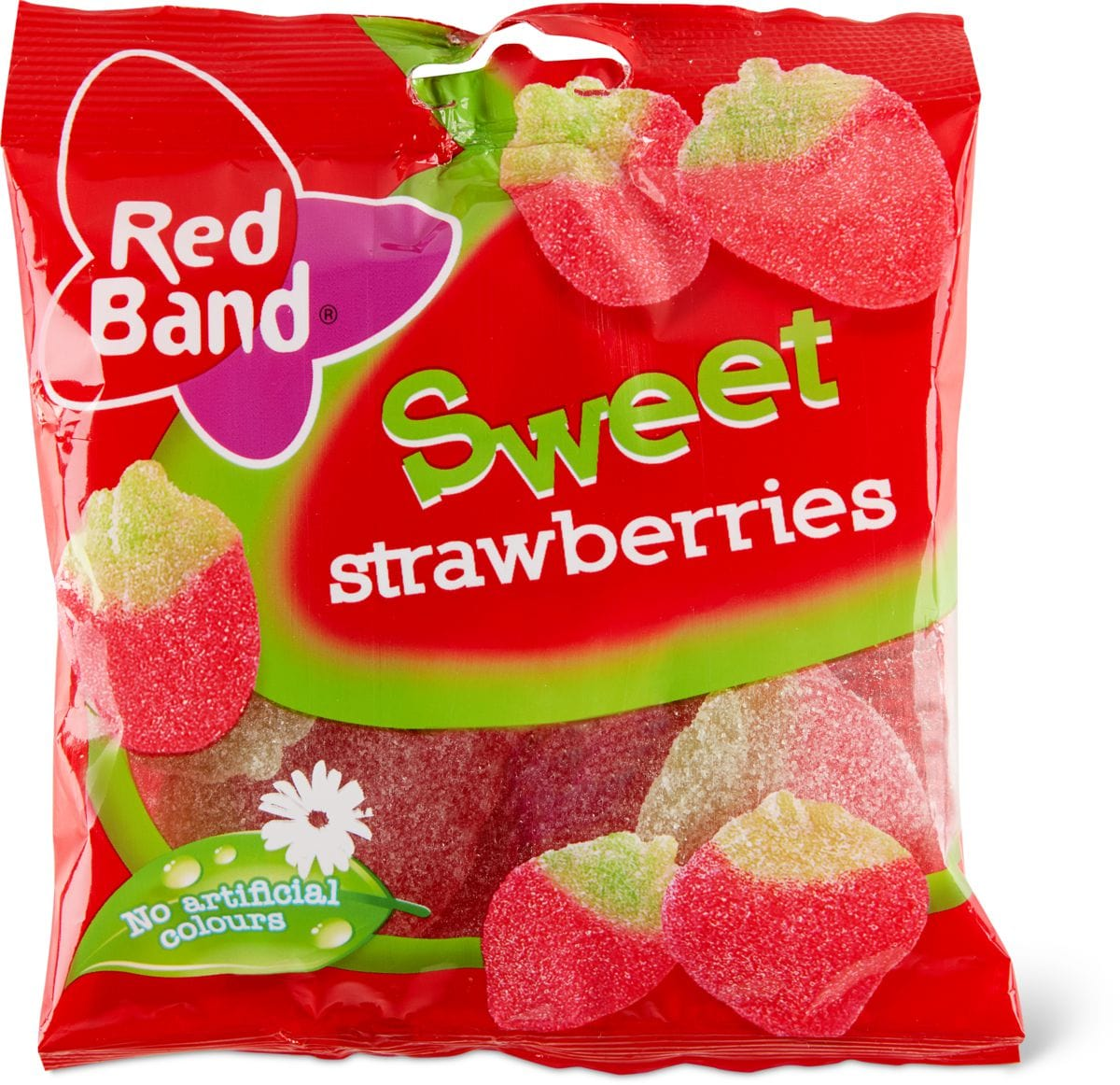 Red Band Sweet strawberries