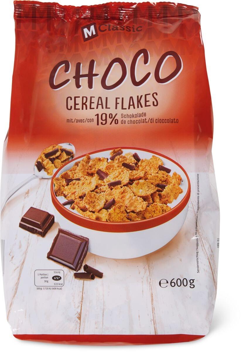 M-Classic Choco Cereal Flakes