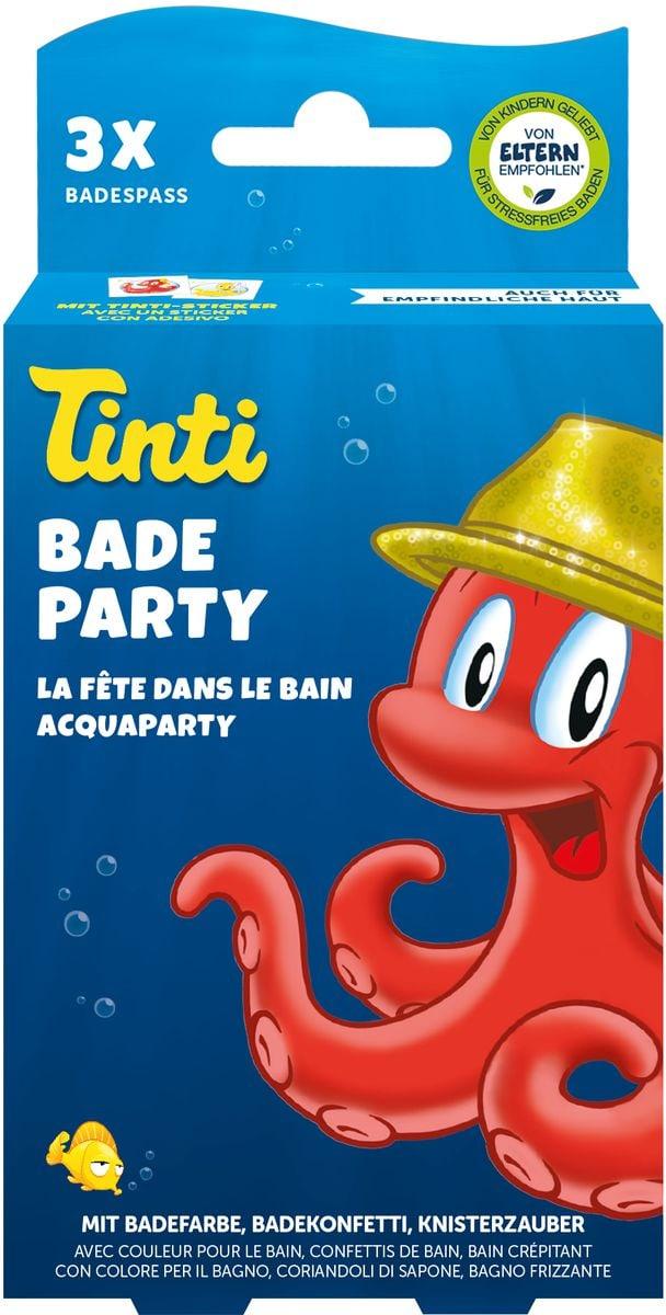 Tinti La fête dans le bain set à 3pcs. Set di bricolage
