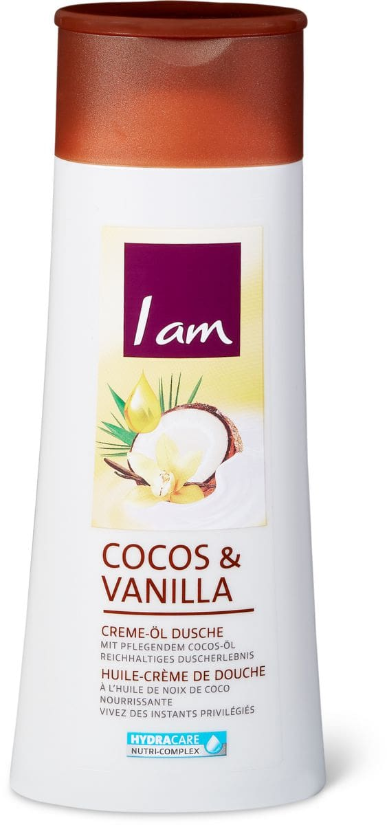 I am Creme-Öl Dusche Cocos & Vanilla