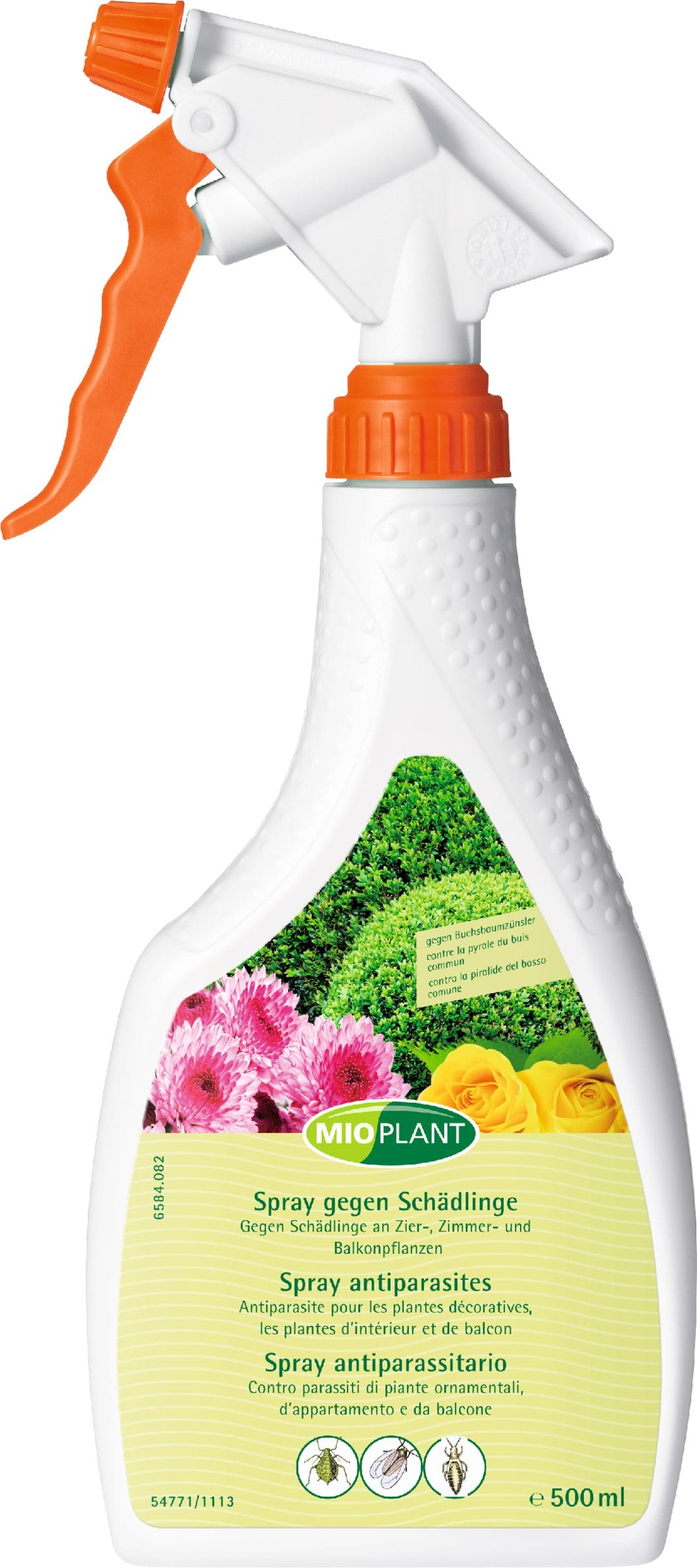 Mioplant Spray antiparasites, 500 ml