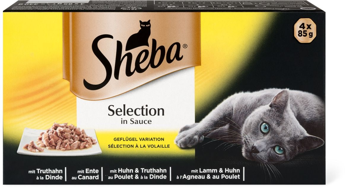 Sheba Selection in Sauce Geflügel Vari.