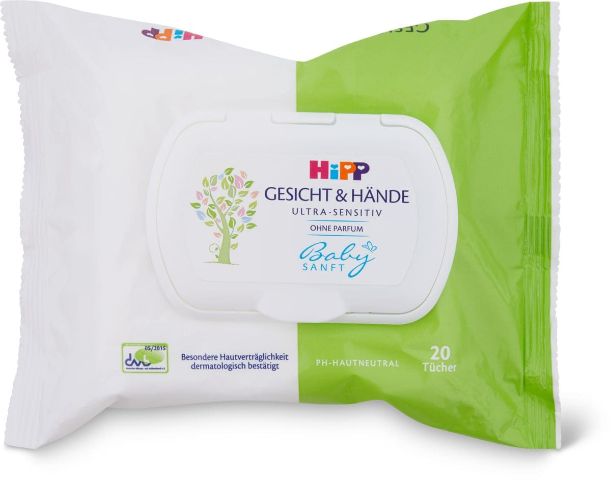 Hipp Babysanft Feuchttücher