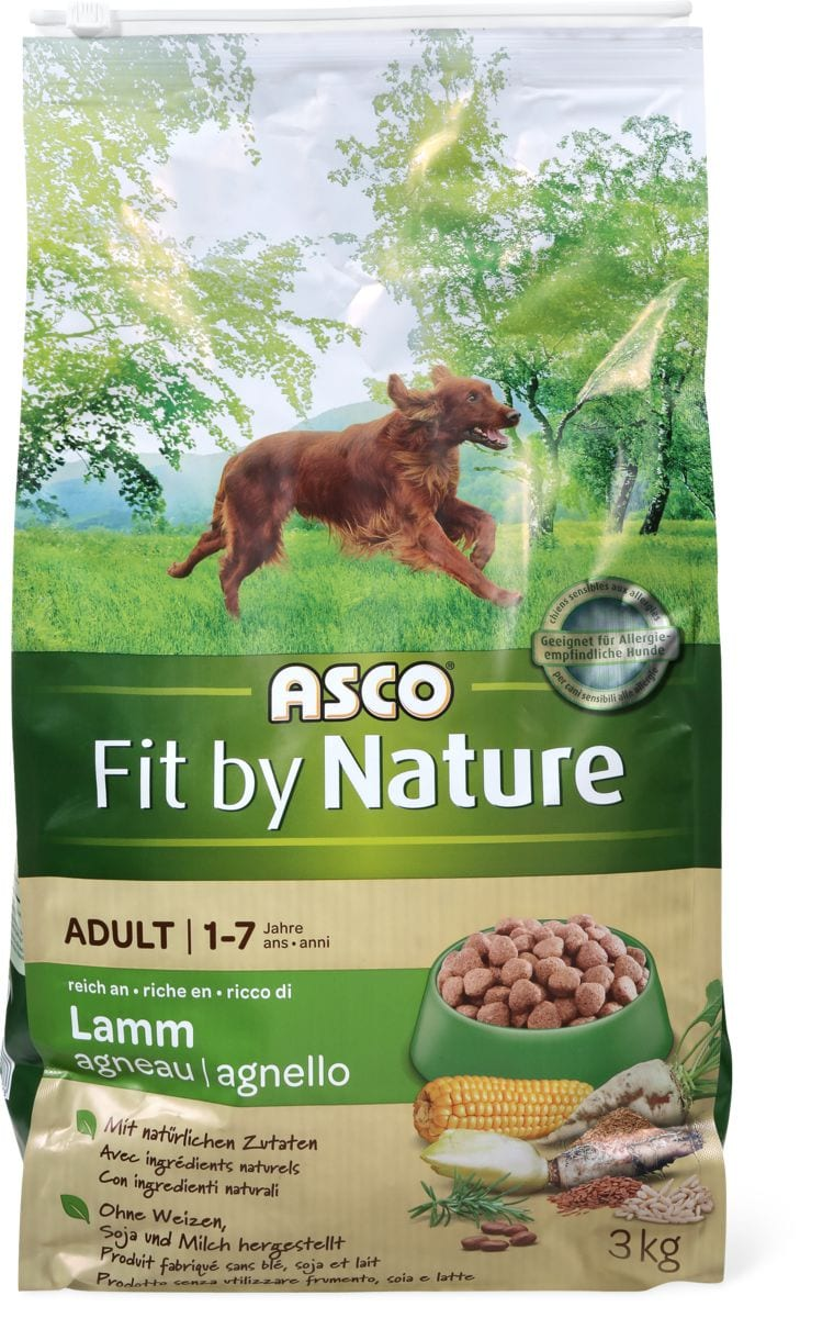 Asco Fit by Nature Adult Lamm