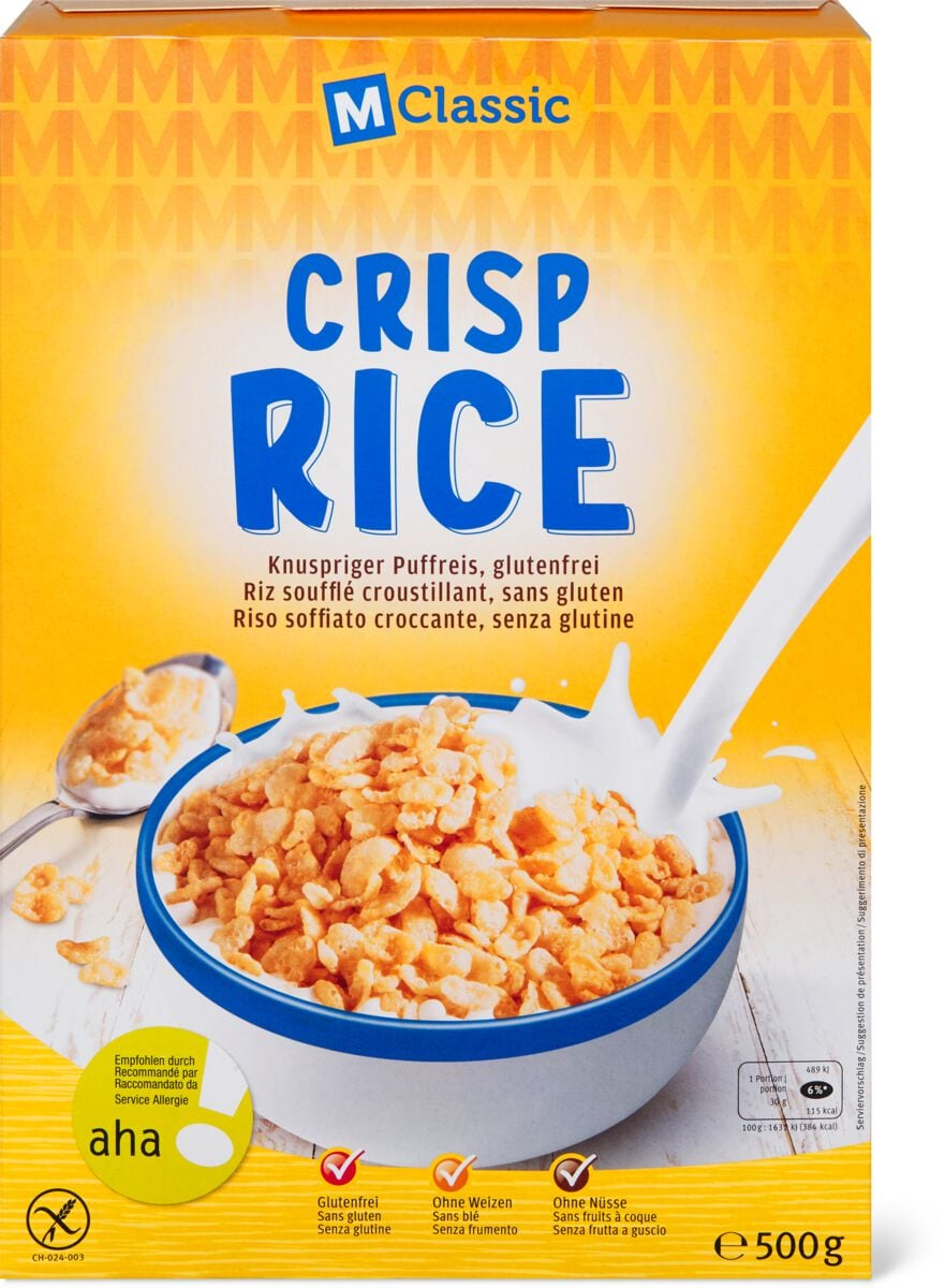 M-Classic aha! Crisp rice