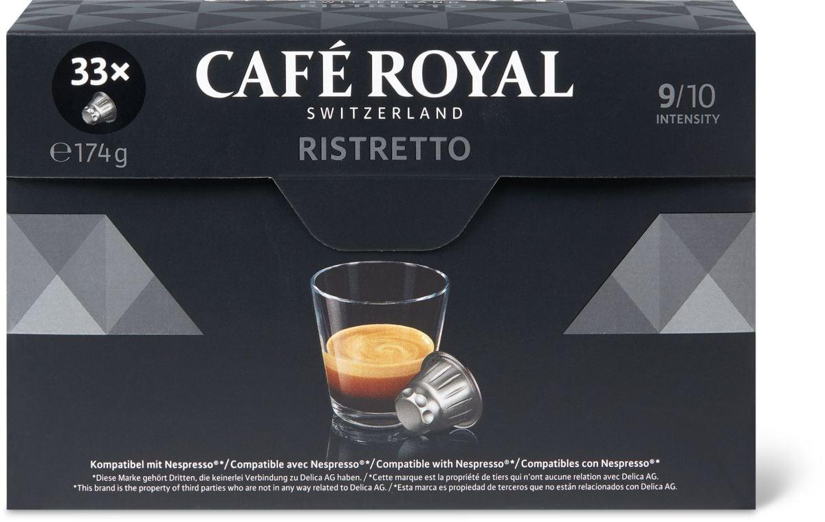 Café Royal Ristretto 33 capsules