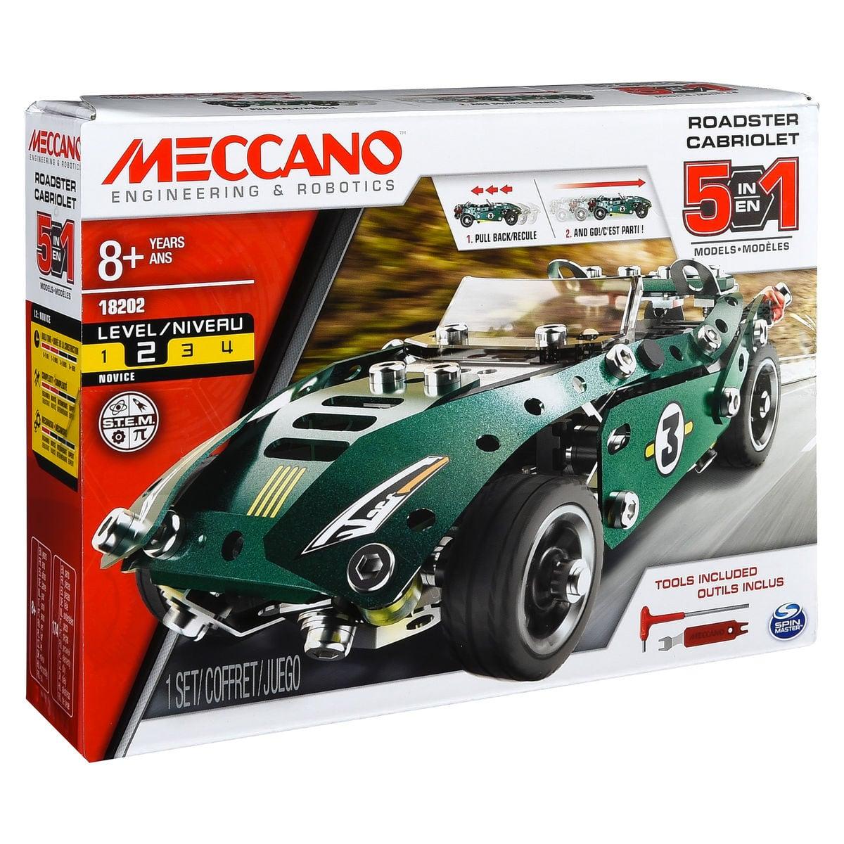 Meccano 5 Model Pull Back Car