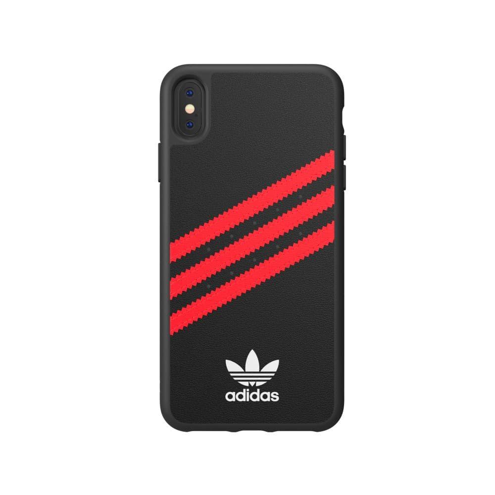 Adidas Originals Moulded Case PU noir/rouge Coque