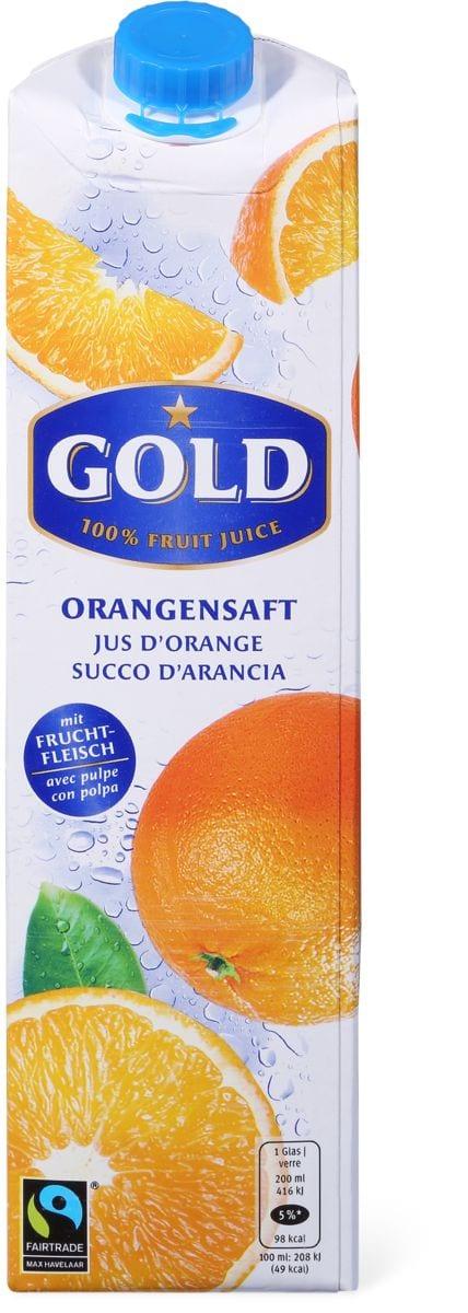 Gold Max Havelaar Jus d'orange
