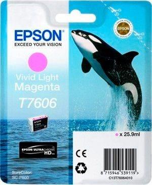 Epson T7602 cartuccia d'inchiostro light magenta Cartuccia d'inchiostro