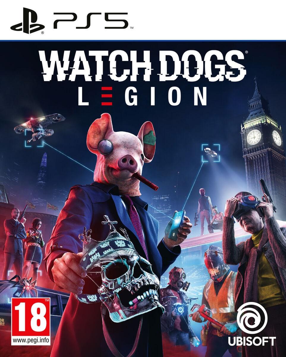 PlayStation 5 Watch Dogs: Legion Box