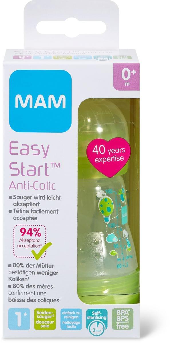 MAM Easy Start Biberon Anti-Colic, 160 ml