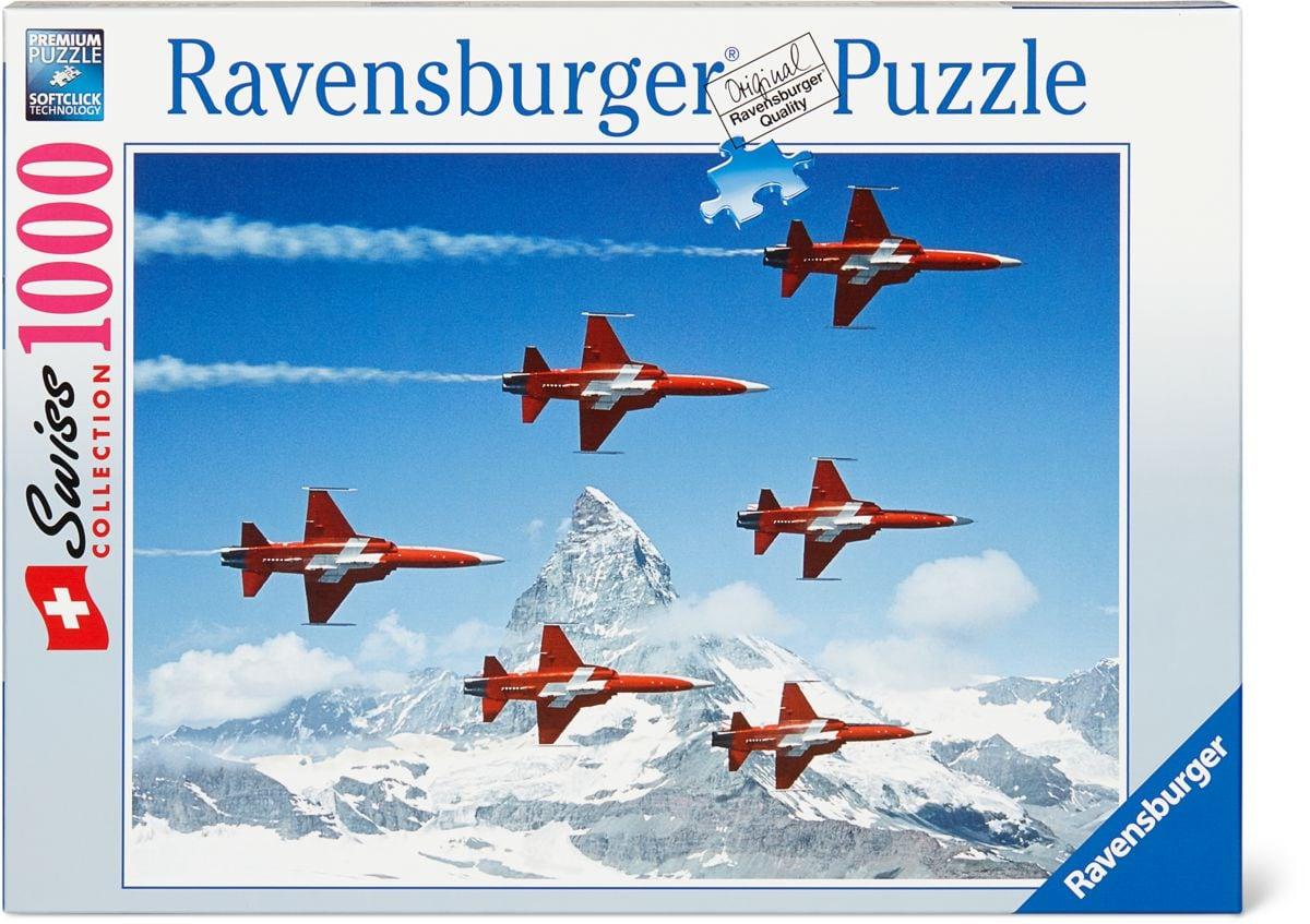 Ravensburger RVB Puzzle Patrouille Suisse Puzzle
