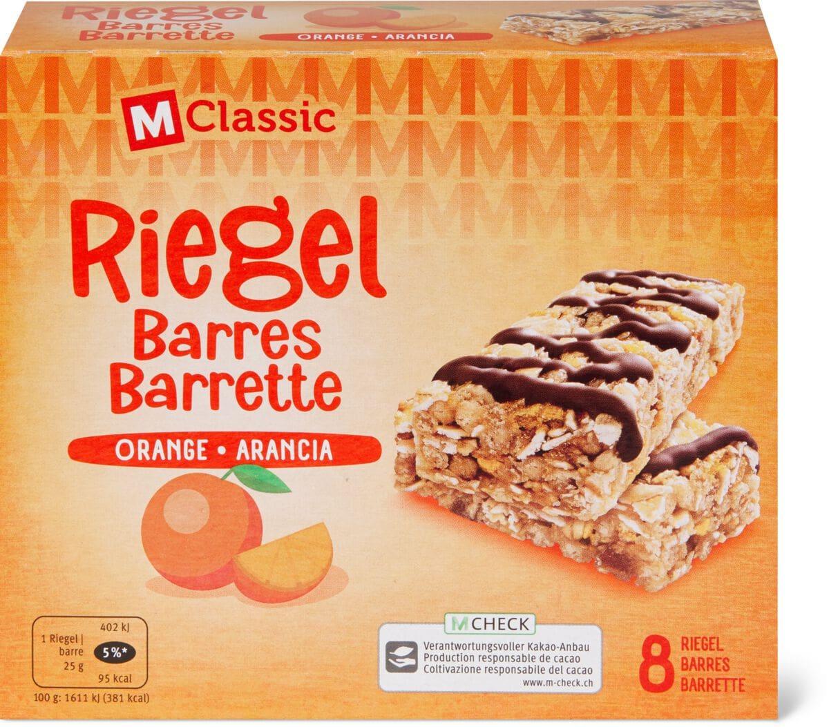 M-Classic Riegel Orange