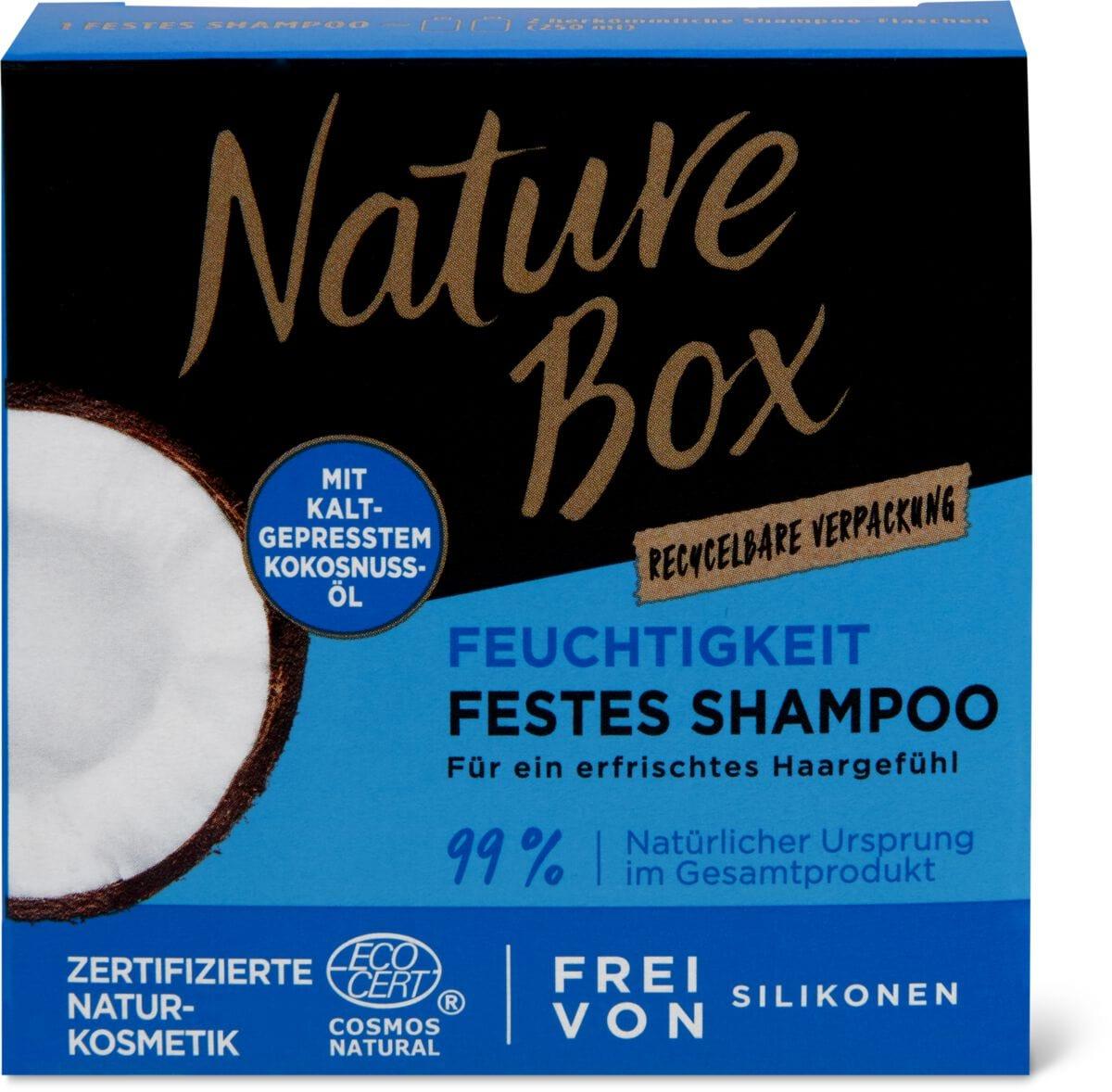 Nature Box Kokosnuss Festes Shampoo