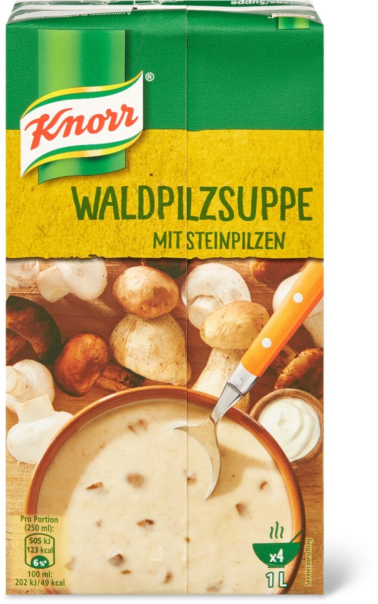 Knorr Waldpilzsuppe