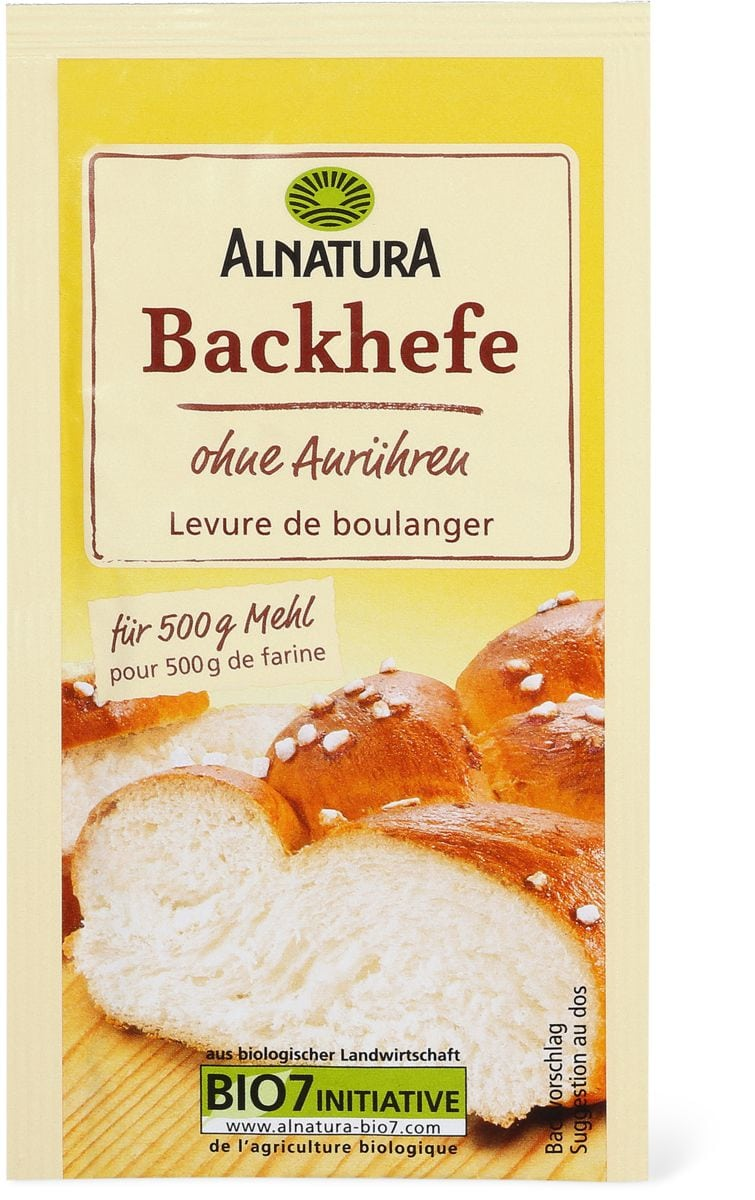 Alnatura Backhefe