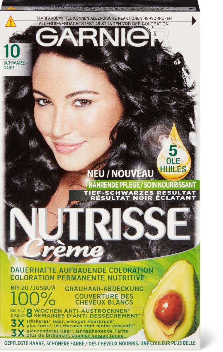 Garnier Nutrisse 10 noir