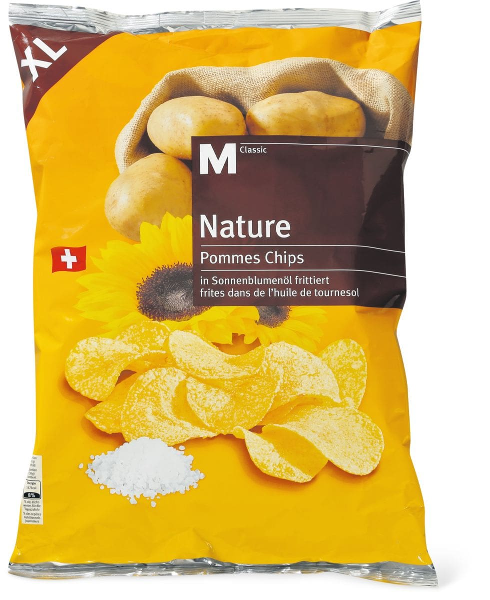 M-Classic XL Chips nature 400g