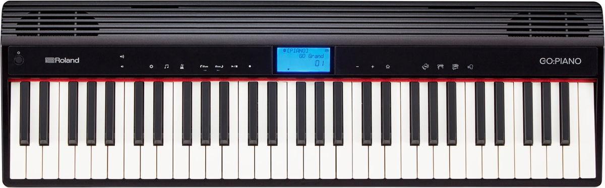 Roland GO:PIANO - Schwarz Keyboard