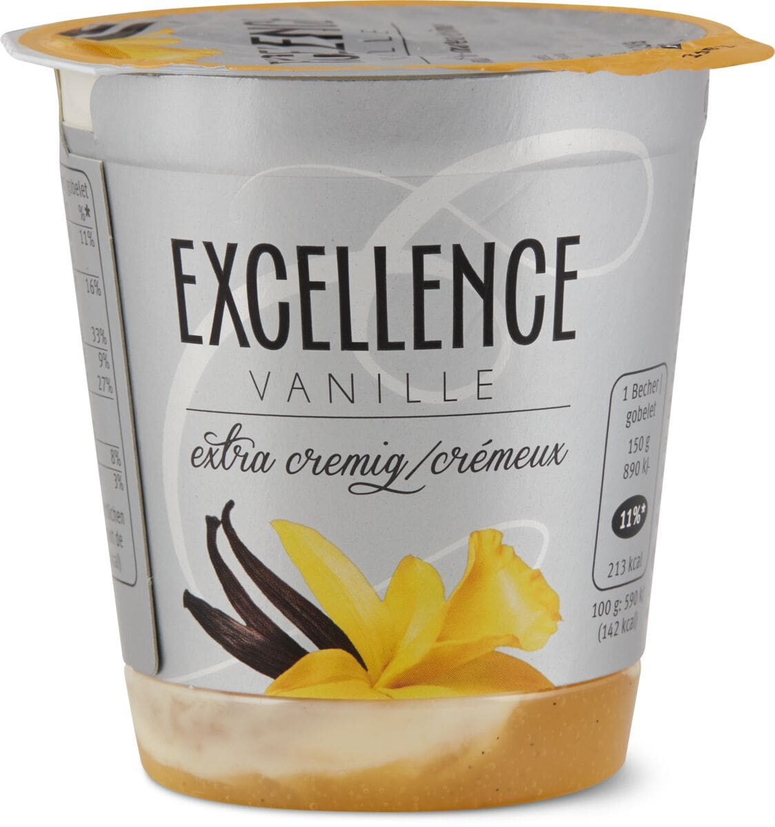 Excellence Vanille Joghurt mit Rahm