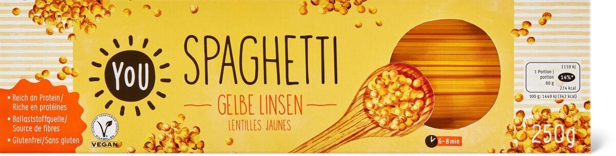 Bio YOU Spaghetti gelbe Linsen