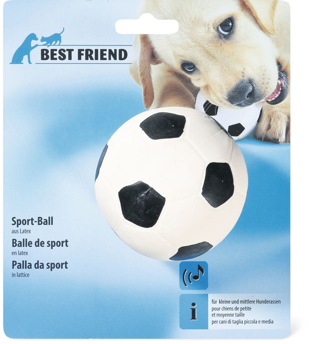 Balle de sport pour chiens