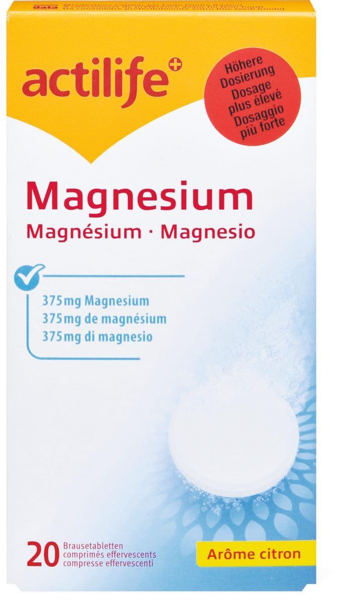 Actilife Magnesium Arôme citron