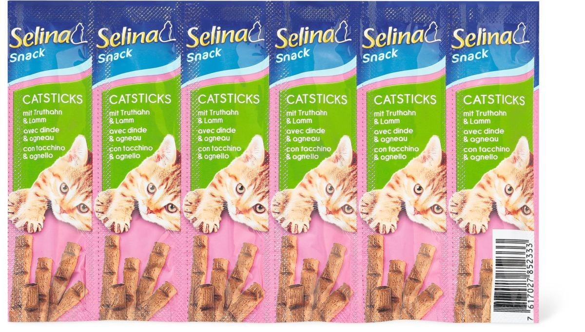 Selina Catsticks agneau/dinde