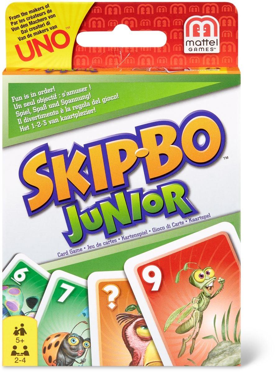 Mattel Games SkipBo Junior Giochi di società