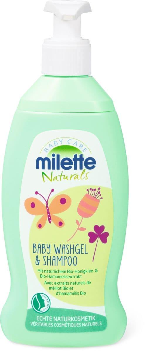 Milette Naturals Baby Washgel & Shampoo