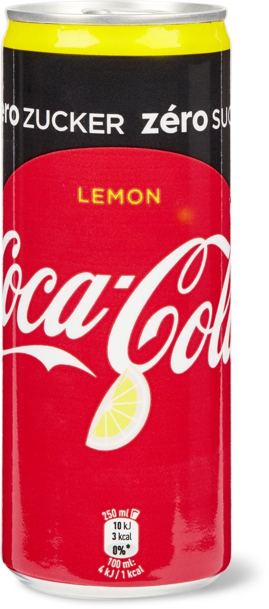 Coca-Cola Lemon zero