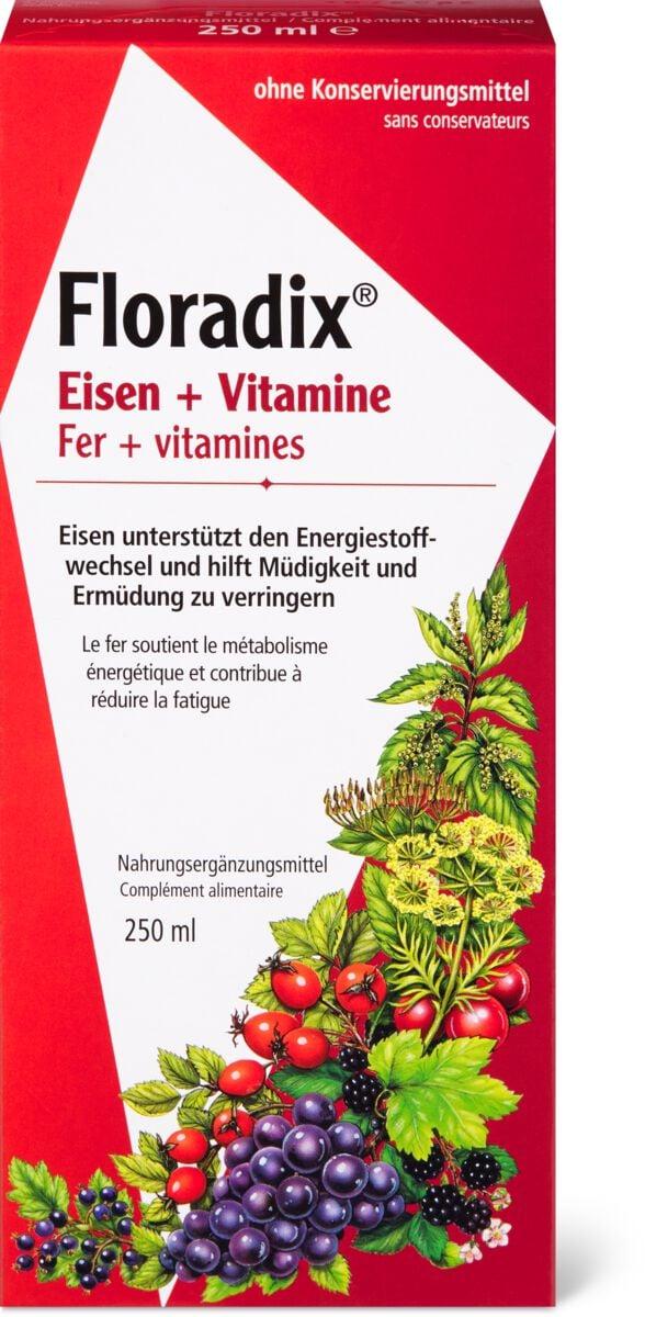 Floradix Viitamines+ Fer sirop