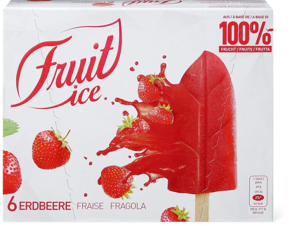 Fruit Ice Erdbeere