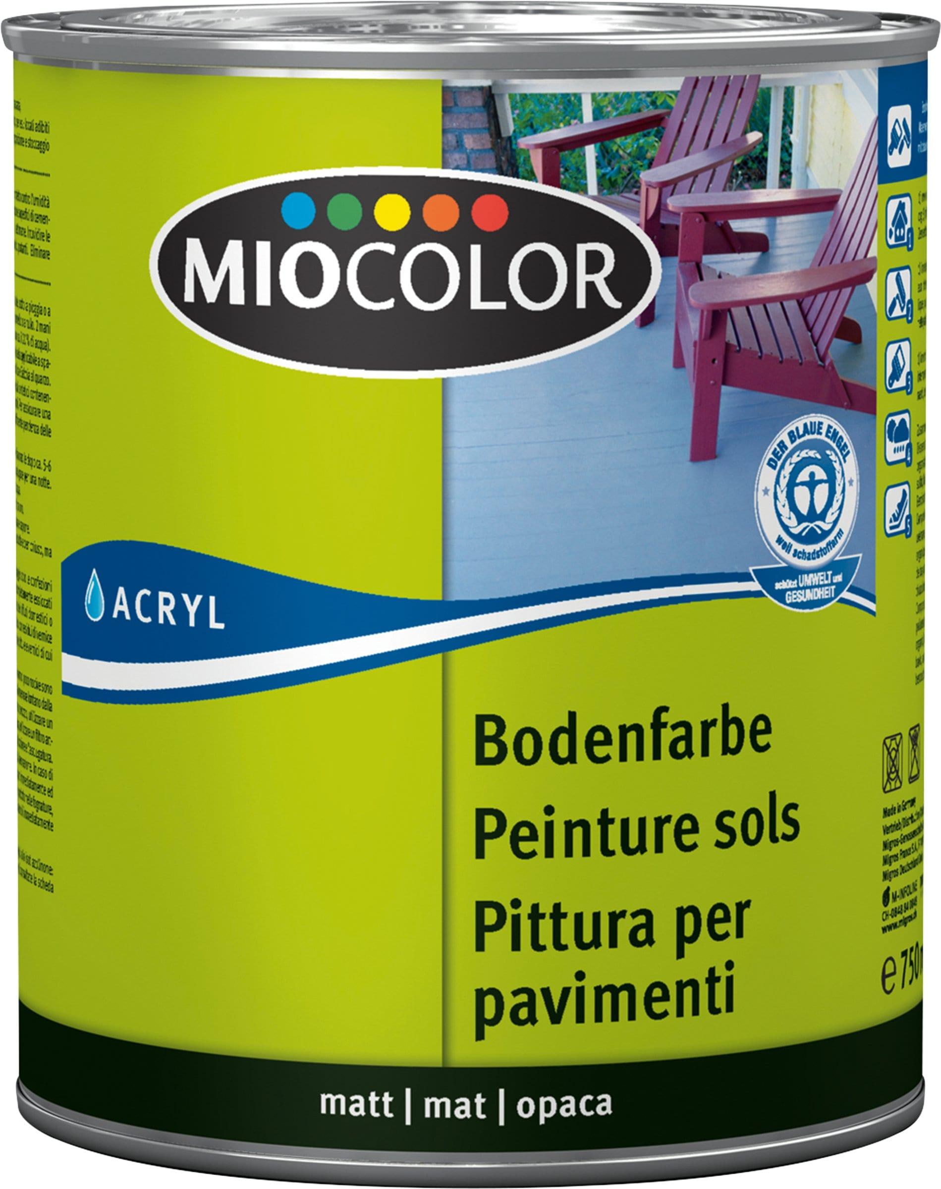 Acryl pittura per pavimenti migros for Pittura per pavimenti
