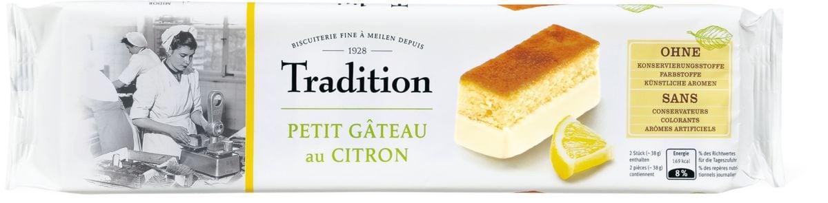 Tradition Petit Gâteau au Citron