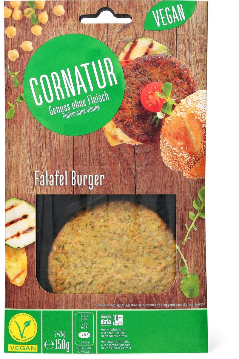 Cornatur Falafel Burger