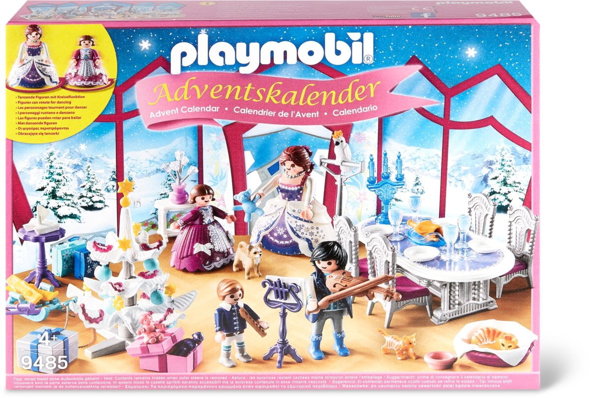 Calendario dell'Avvento 'Ballo di Natale nel Salone di Cristallo