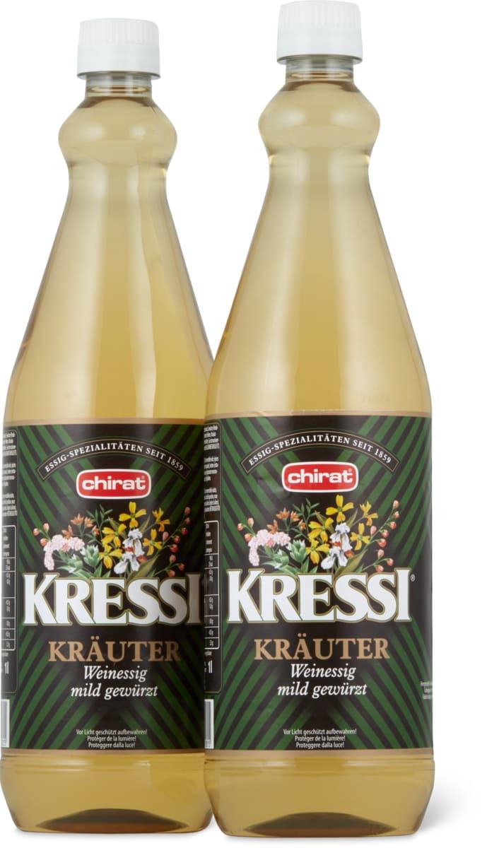 Chirat Kressi Kräuter-Weinessig
