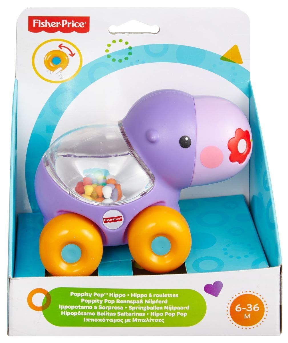 Fisher-Price BGX29 Tartaruge e ippopota Figure giocattolo
