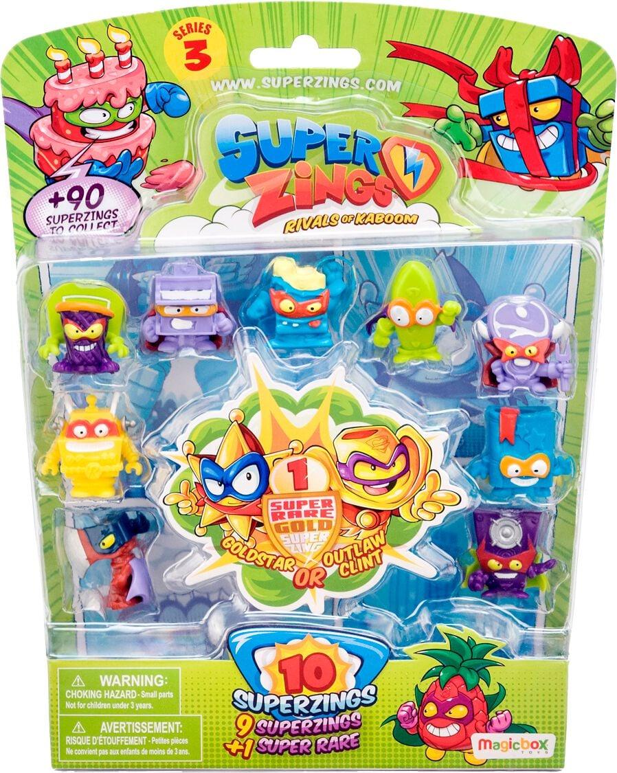 Superzings 3 10 Figurines Spielfigur