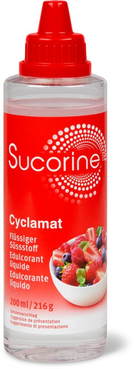 Sucorine Cyclamat Flüssiger Süssstoff