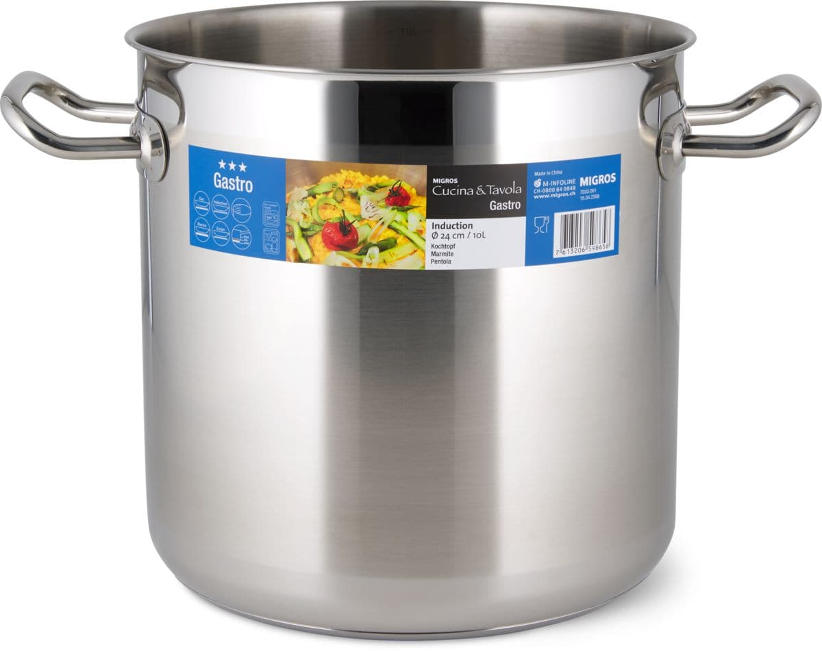 Cucina & Tavola Kochtopf 24cm 10.0L GASTRO