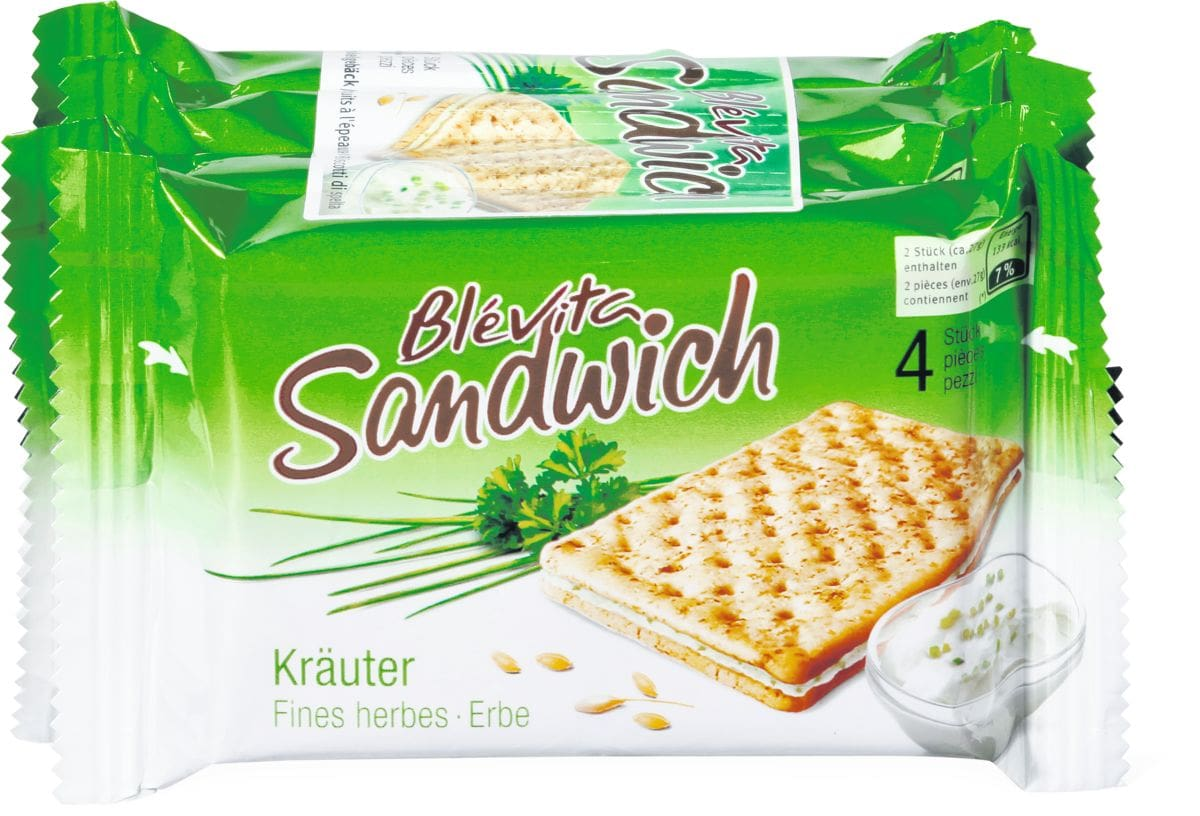 Blévita Sandwich Kräuter