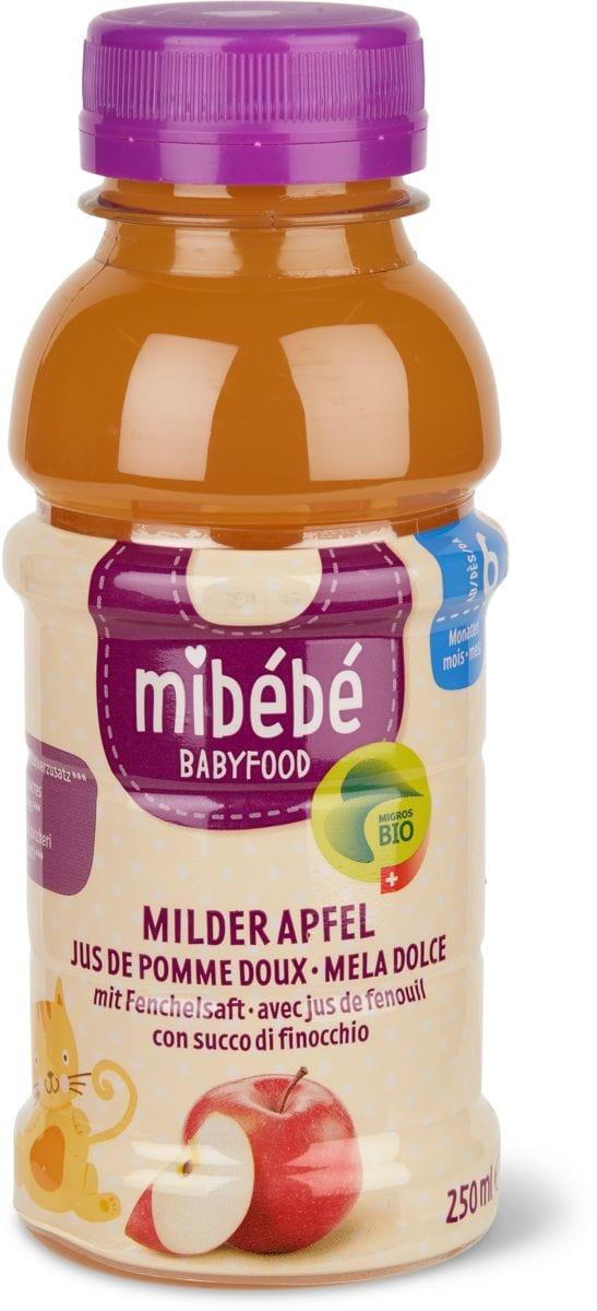 Mibébé Milder Apfel mit Fenchelsaft