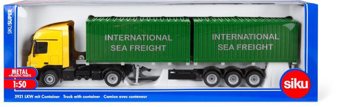 LKW mit Container